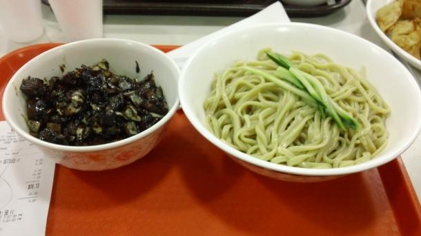Black Bean Sauce Noodles