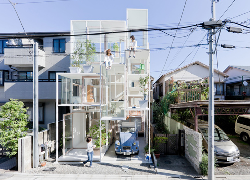 Glass House in Tokyo by Yahoo Real Estate