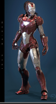 Ms pepper potts own iron man suit retrenders