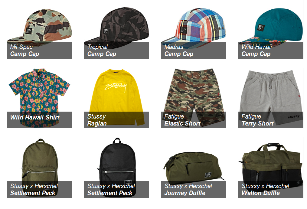 Stussy Summer 2012 Collection – Retrenders