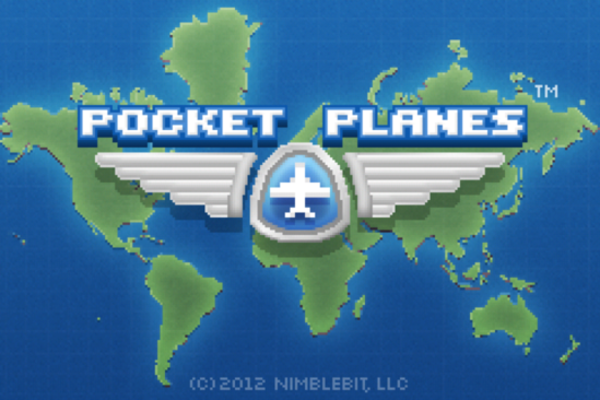 Pocket Planes Title Screen