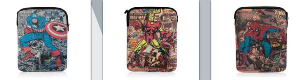 PDP and Marvel have come up with some cool retro iconic cover designs cases  for the iPhone 4 cases and neoprene covers for the iPad. 7df2a378c