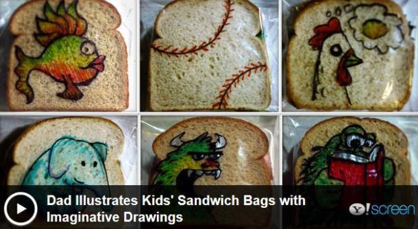 sandwich bag art video