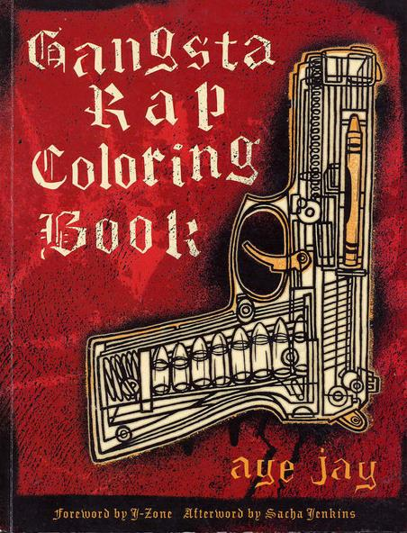 gangsta rap coloring book 00