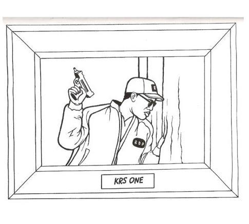gangsta rap coloring book 01