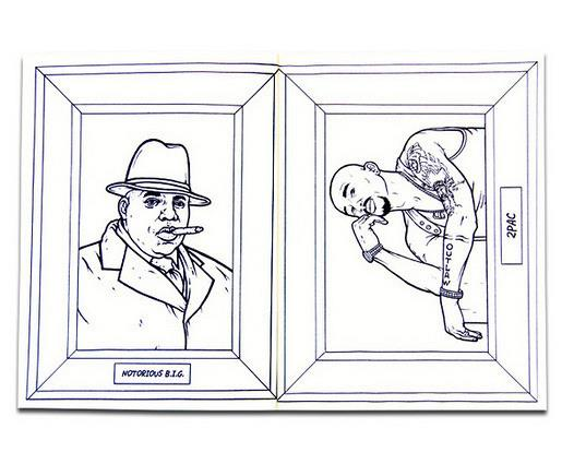 Gangster Rap Coloring Book Images