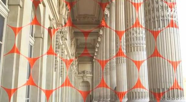 geometric mural 00