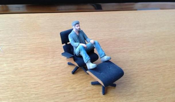 3d Printed Mini Eames Lounge Chair Retrenders