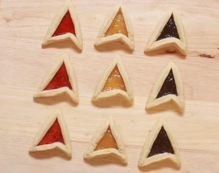 Star Trek Insignia Cookies