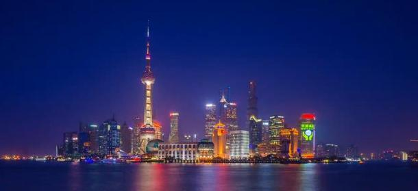 time lapse shanghai