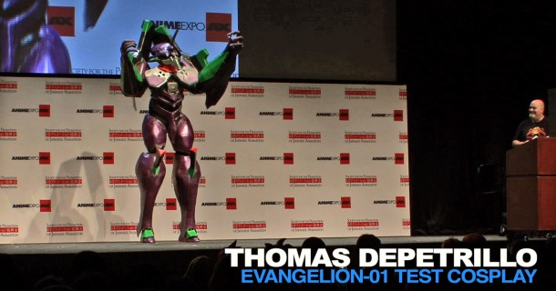 RETRENDERS Thomas Depetrillo - Eva Unit-01 Evangelion Cosplay