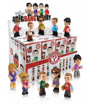 big bang theory mystery minis