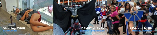 Retrenders - Sleepy Thor - Batman Spiderman - Mortal Kombat - Johnny Moreno