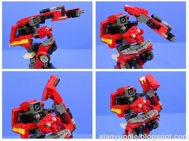Custom Lego Transformers Ironhide Amp Ratchet Retrenders
