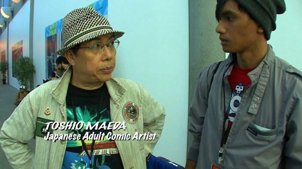 Retrenders - Toshio Maeda - Japanese Manga Comic Artist - Johnny Moreno