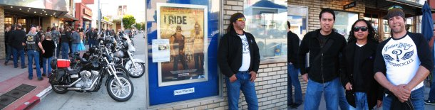 2011 I RIDE documentary Screening - Johnny Moreno - Daron Ker -  Marcus Bruno