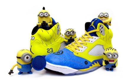 custom minion nike sneakers
