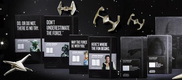 star wars moleskine collection