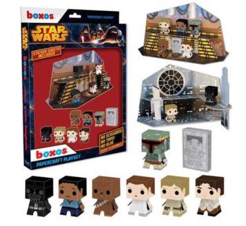 star wars box playset