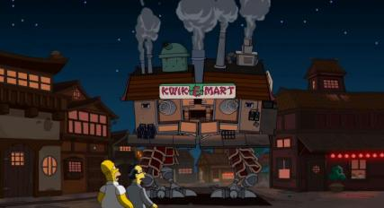 simpsons anime