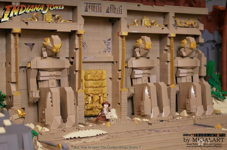 Lego Indiana Jones Diorama Retrenders