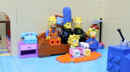 lego simpsons opening