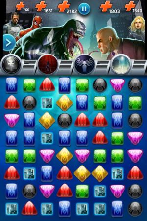 Marvel Puzzle Quest Venom