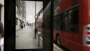pepsi bus shelter