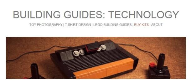 lego retro building cover