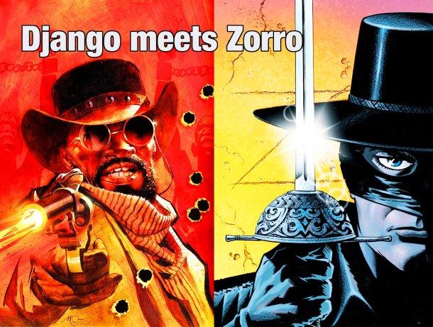 Retrenders - Django & Zorro - Quentin Tarantino - Matt Wagner - Reginald Hudlin - Comic Book