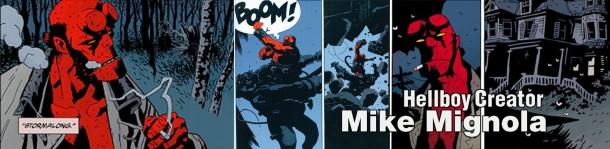 Retrenders - Hellboy Creator - Mike Mignola