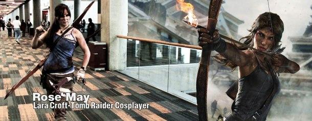 Retrenders - Rose May - Lara Croft - Tomb Raider
