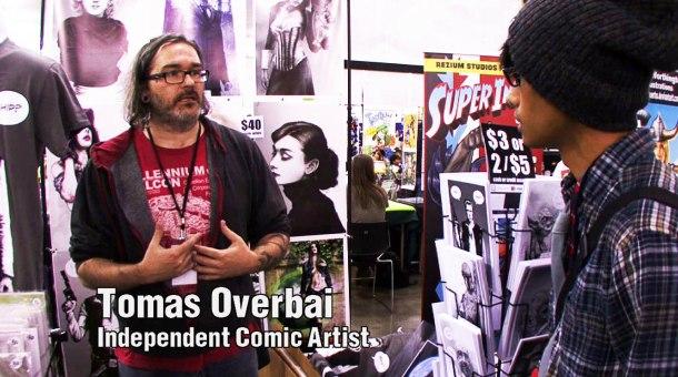 Retrenders - Tomas Overbai - Comic Artist - Ichido