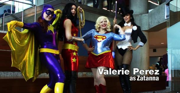 Retrenders - Valerie Perez - Zatanna - DC Comics