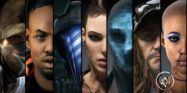 Watch Dogs characters
