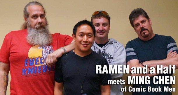 Comikaze Expo 2014 - Ramen and Half meets Ming Chen