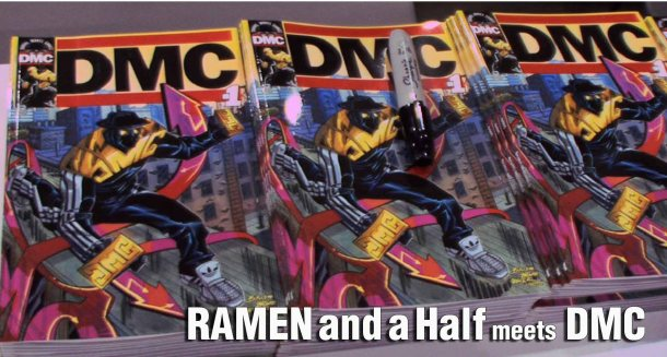 Ramen and Half meets DMC comics