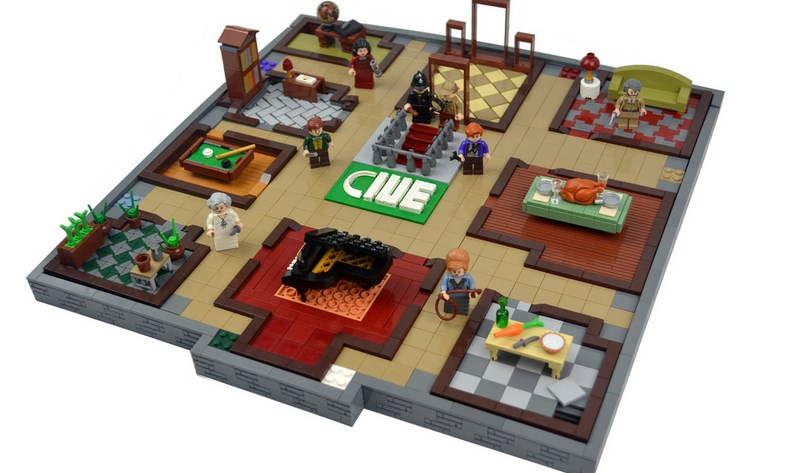 The LEGO CLUE Gameboard – Retrenders