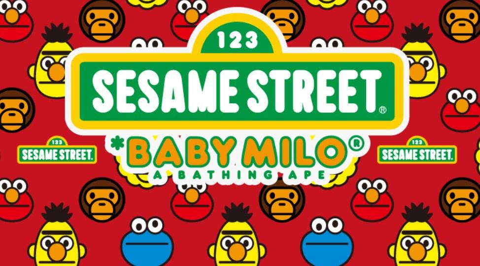 Bape X Sesame Street 2015 Retrenders