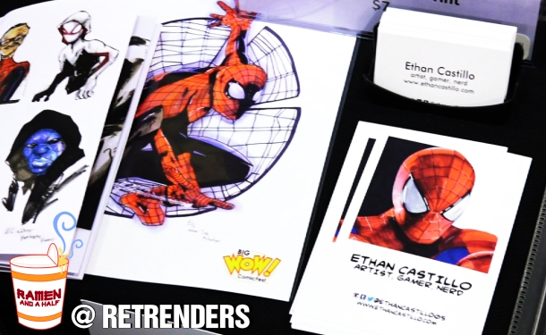 BigWow Comicfest - Ethan Castillo - Retrenders