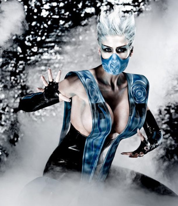 Mortal Kombat - Frost - Marie-Claude Bourbonnais