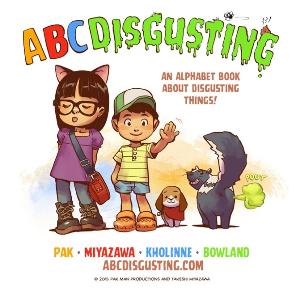 abcdisgustingbookcover
