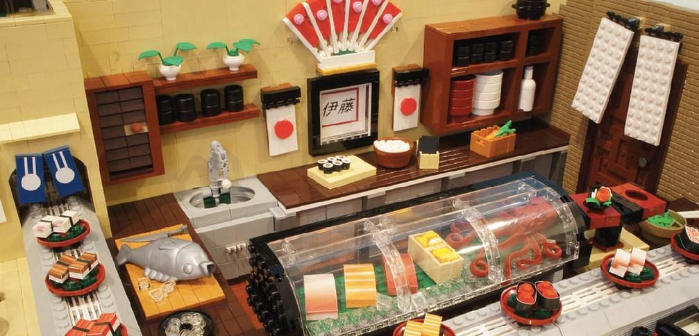 Sushi Fast Food Restaurant