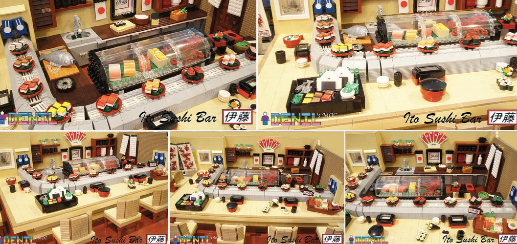 The Lego Sushi Bar Restaurant Retrenders
