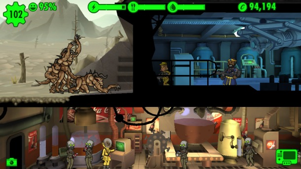 Fallout Shelter Deathclaws