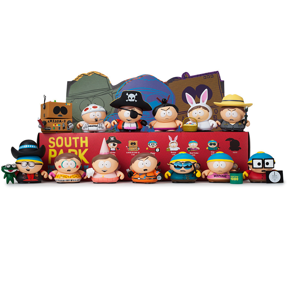 South Park The Many Faces Of Cartman Retrenders