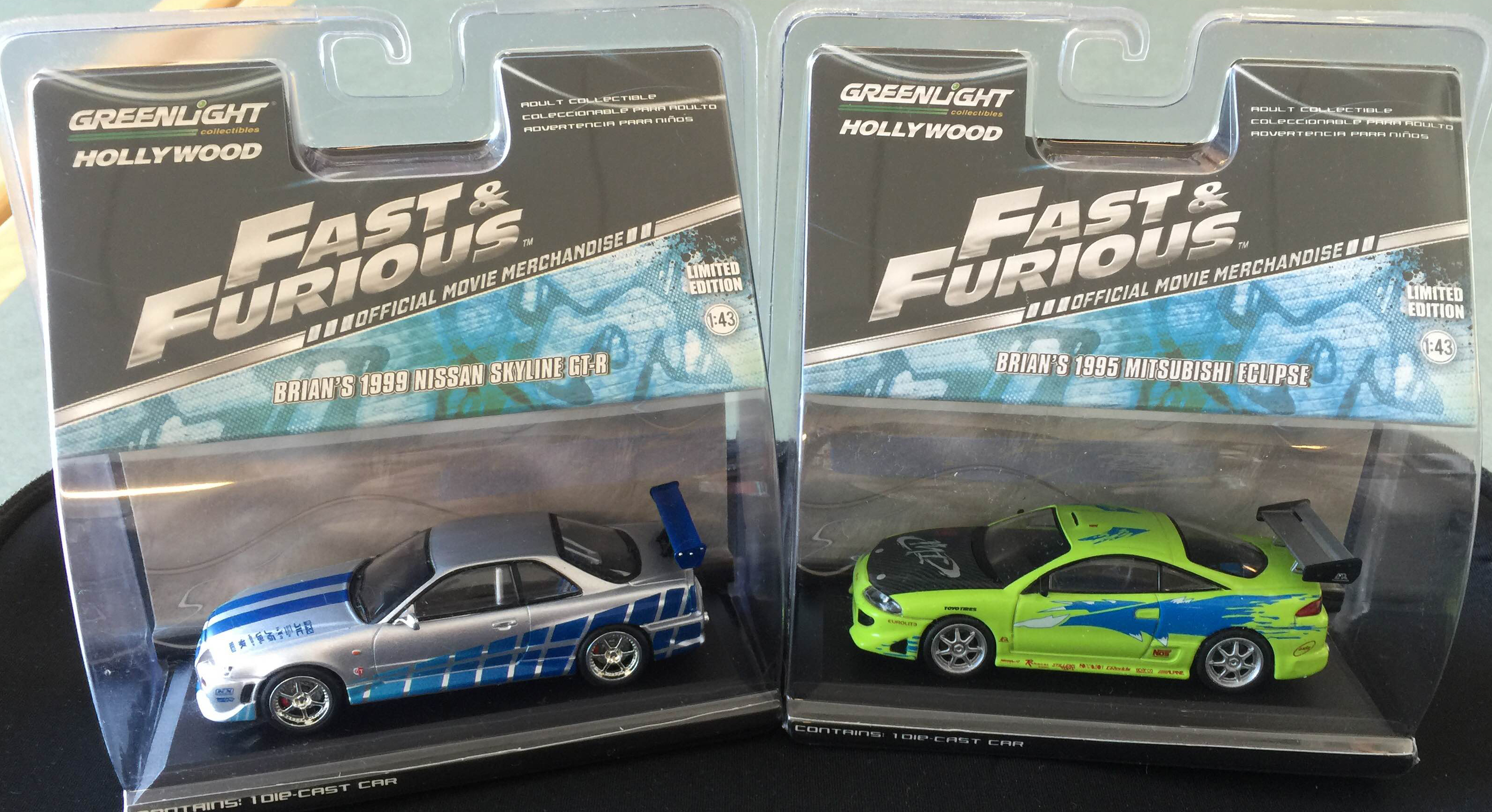 Greenlight Collectibles 1 43 Fast Amp Furious Collection