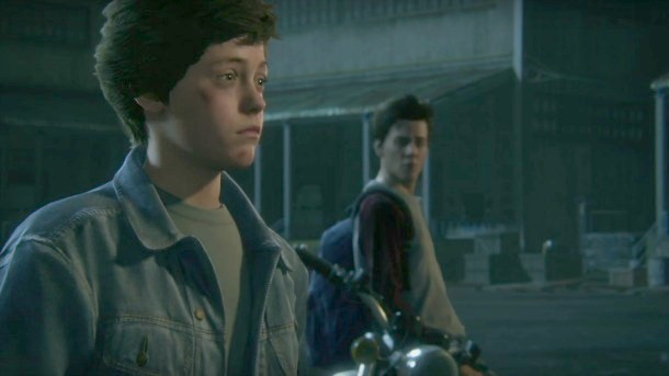 Uncharted 4 Young Sam and Nathan