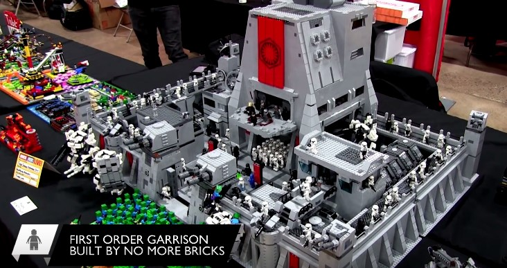Custom Lego Star Wars First Order Hq Moc Retrenders
