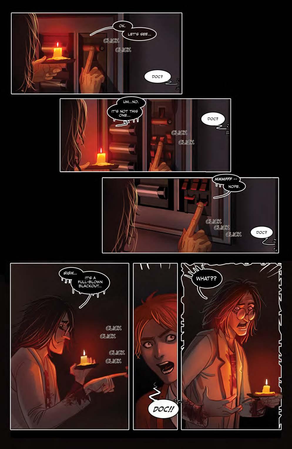 comic preview  blood stain vol  2  u2013 retrenders